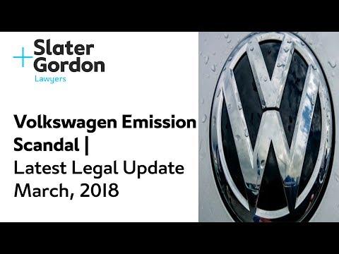 Volkswagen Emission Scandal   Latest Legal Update