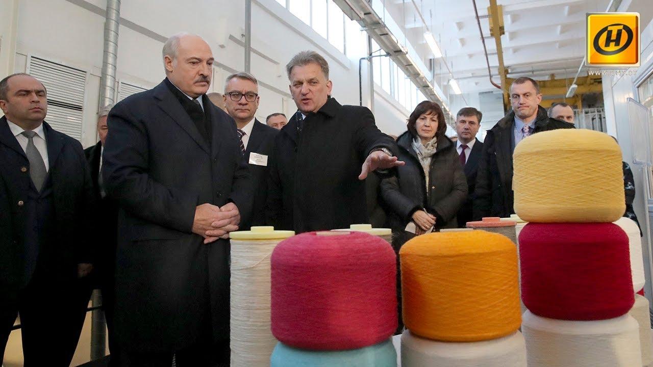 Александр Лукашенко: Льняная отрасль способна стать в два раза эффективнее