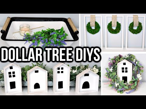 DOLLAR TREE DIY | FARMHOUSE DECOR IDEAS