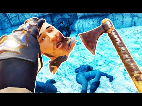 CHOPPING OFF HEADS IN THE CANYON ARENA In Blade And Sorcery VR!