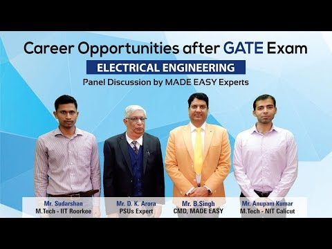 Career Opportunities after GATE | Electrical Engineering | MADE EASY Mp3