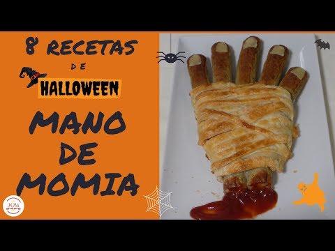Mano de Momia para Halloween por el canal de la Cocina de Mari Pili