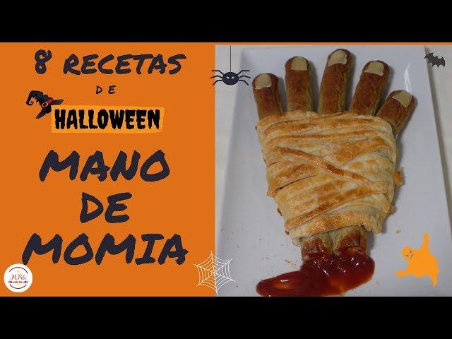 Mano de Momia 👻8 COMIDAS PARA HALLOWEEN