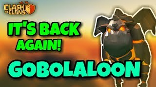 GOBOLALOON IS BACK! Th9 MOST STRONGEST 3 STARS WAR ATTACK STRATEGY OF ALL TIME   Clash Of Clans