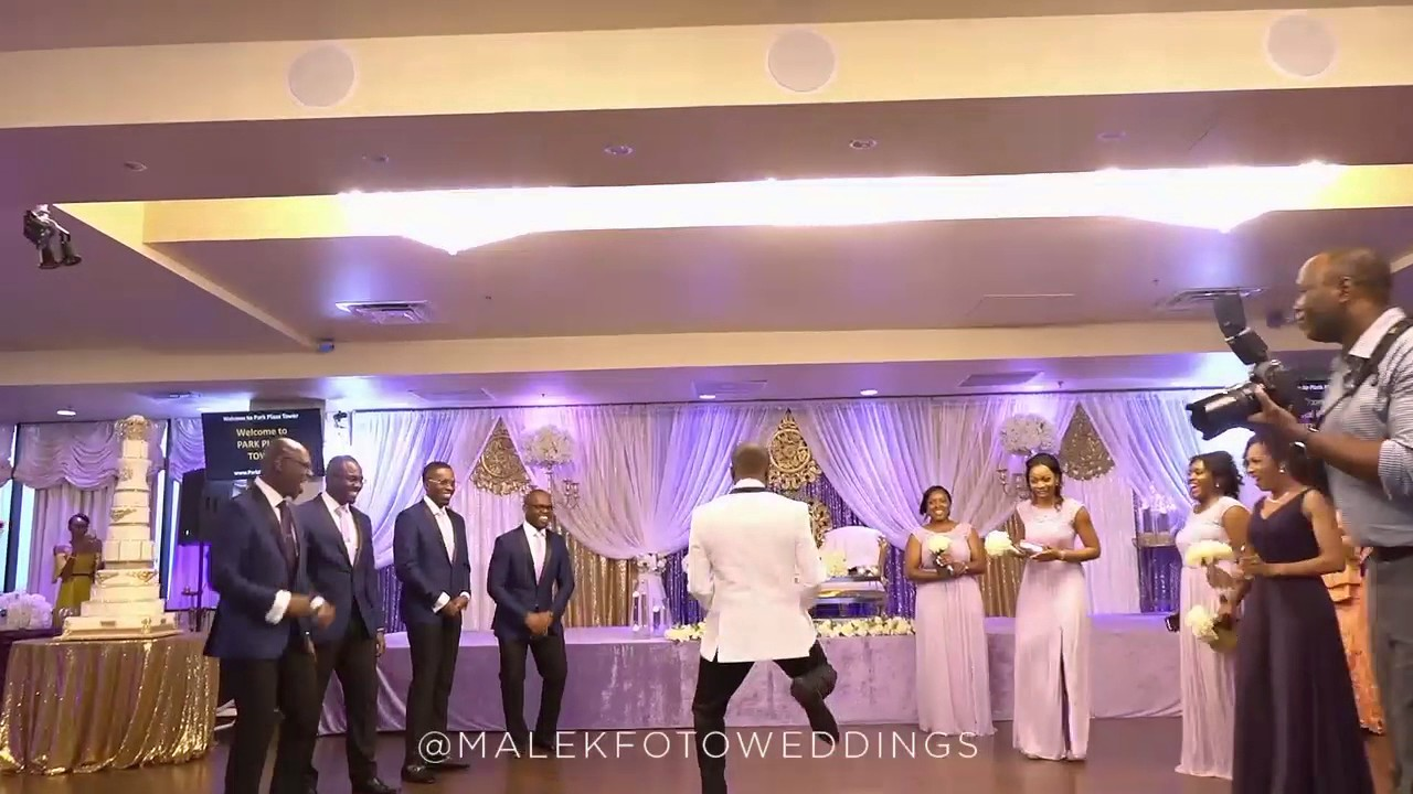 BEST 2017 WEDDING RECEPTION DANCE EVER OF THE COUPLES GOAL