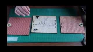 Рамка трансформер видео МК (Multipurpose frame video tutorial)(STRUK OLGA http://otpech.blogspot.com/2013/04/multipurpose-frame-video-tutorial.html Можно использовать как: подставка для книги, календарь, фотор..., 2013-04-17T14:06:07.000Z)