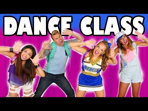 Dance Class: Back to School Pop Music High Music Video Tutorial. Totally TV