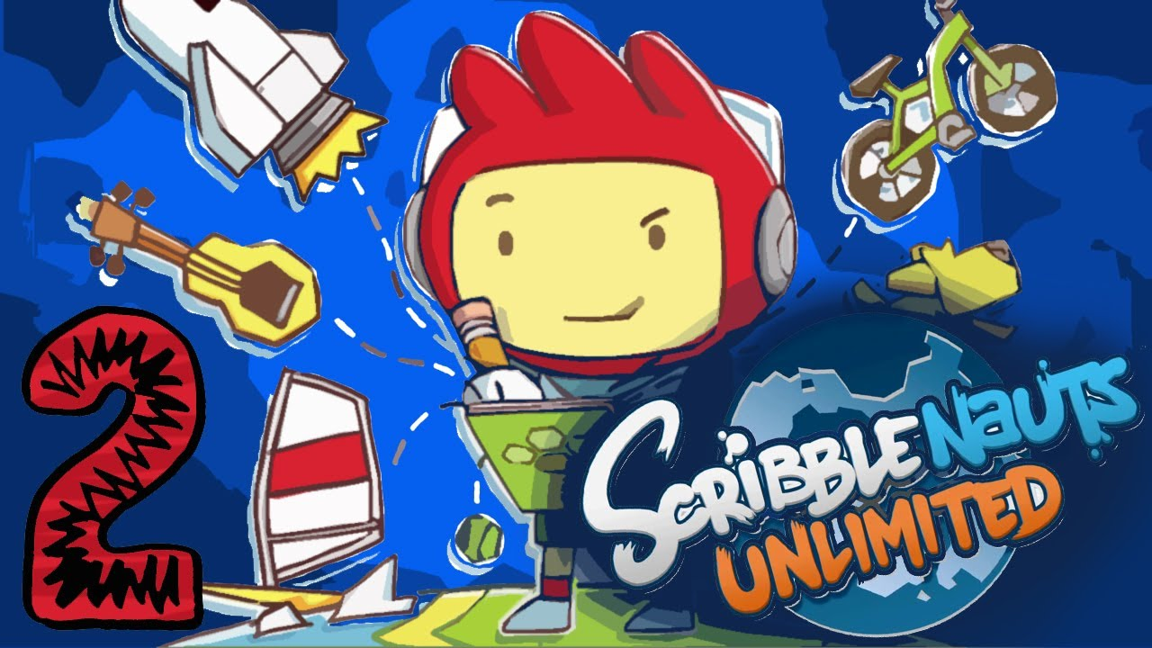 #2 Scribblenauts Unlimited: Led Zeppelin