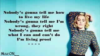 Claire Richards-On My Own [Lyrics]