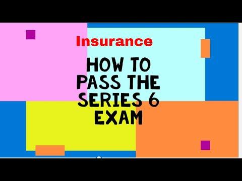 Series 6  Exam Prep (Insurance)