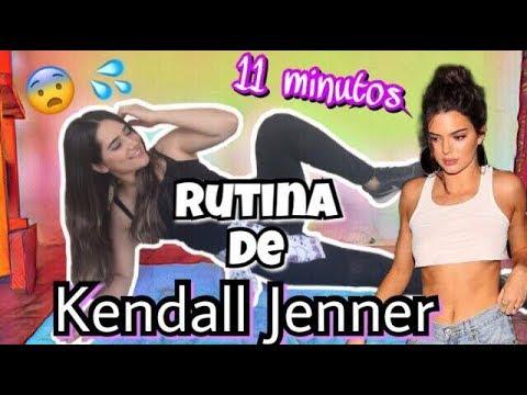 Probe el entrenamiento de 11 minutos de kendall jenner - Hi marylu