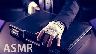 "[ASMR Binaural] Mr Briefcase #1 : ""The AID Kit"" (Roleplay) - with English soft spoken"