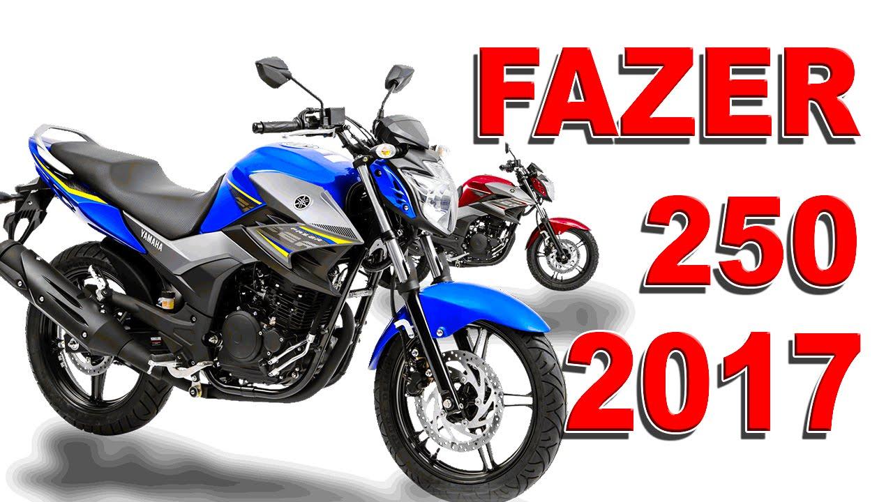 Novidade yamaha fazer 250 2017 motonews youtube for 2017 yamaha 250