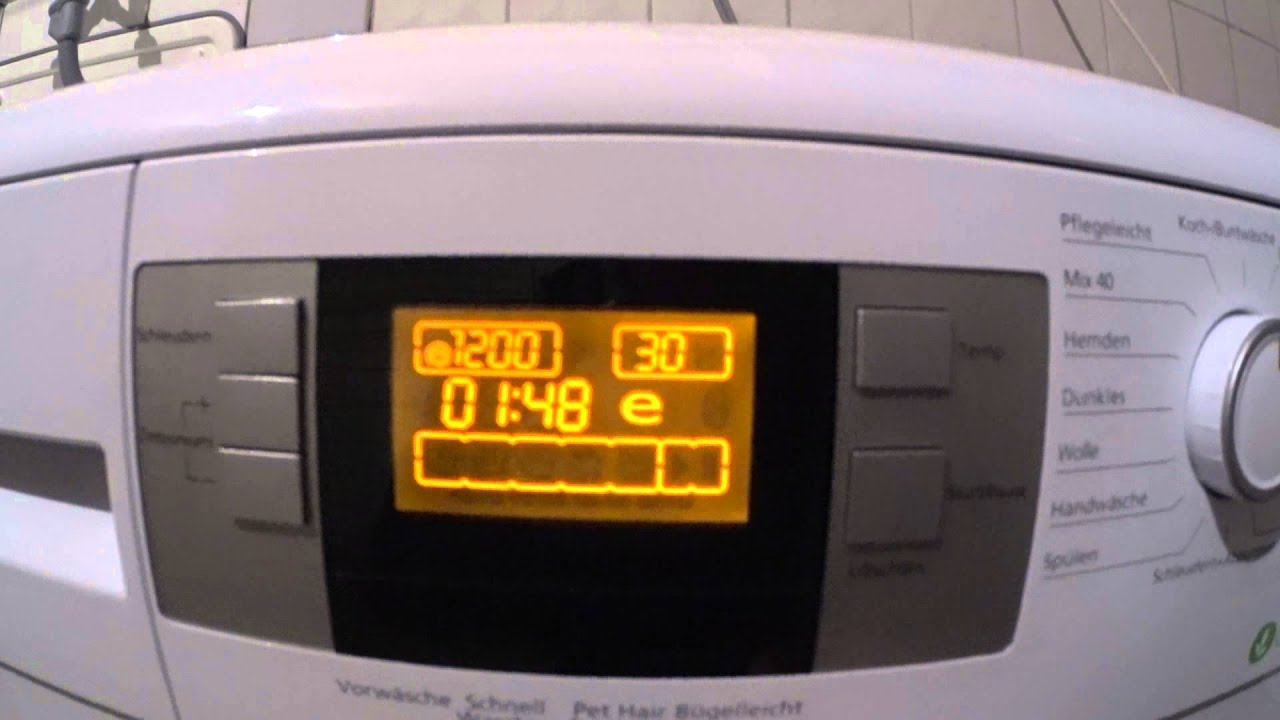 Strung Beko Waschmaschine WMB 71443 PTE - YouTube