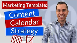 Content Marketing Calendar Plan Template: Step-by-Step Content Domination Strategy