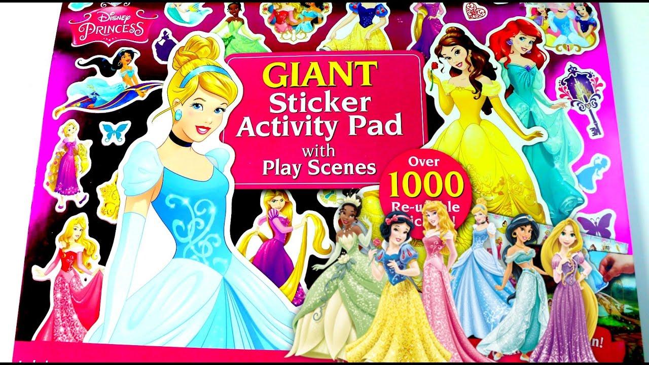 JUGUETES Libro Gigante de Actividades Princesas-Giant Disney ...