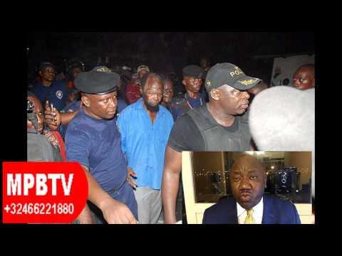 RDC-ARRESTATION DE NE MUANDA NSEMI PAR LE GENERAL KANYAMA EN IMAGE