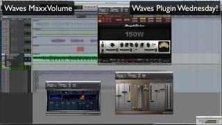 Waves MaxxVolume - Waves Plugin Wednesday!