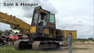 Scrapyard Heavy Equipment
