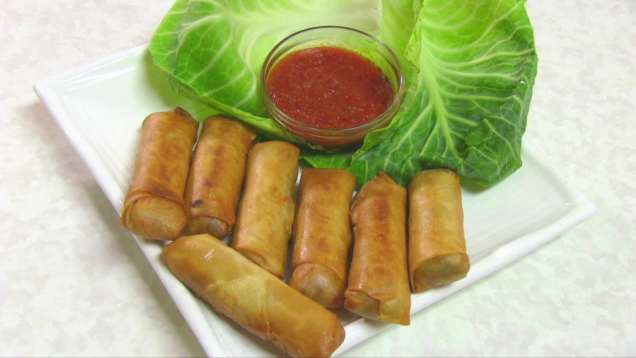 Vegetable Spring Rolls Video Recipe by Bhavna - YouTube