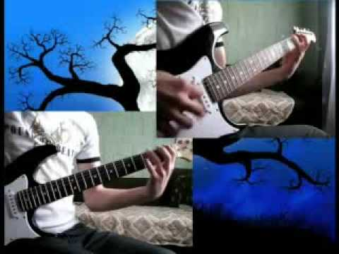 Cradle of Filth Foetus of new day kicking guitar cover without background music