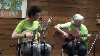 Adam Hurt is Joined by Cathy FInk in Haste to the Wedding at Suwannee Banjo Camp