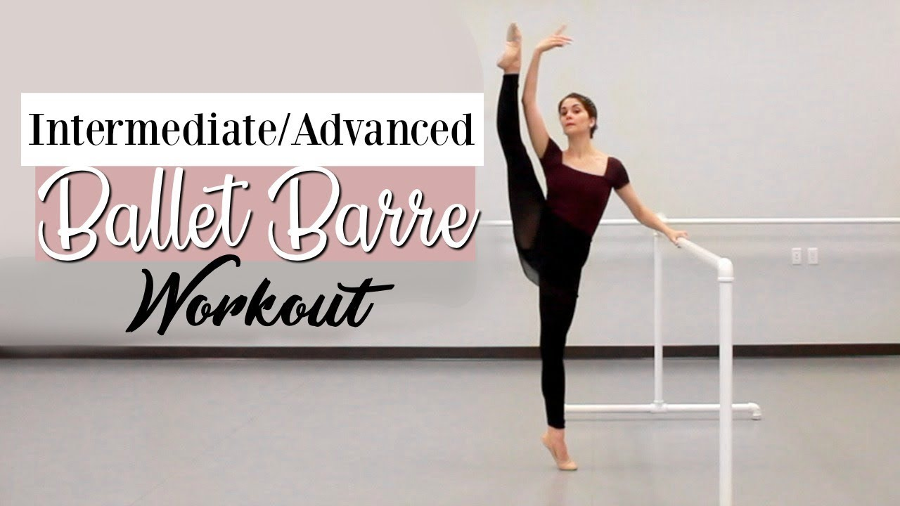 bf6af84be Intermediate Advanced Ballet Barre | Kathryn Morgan - YouTube