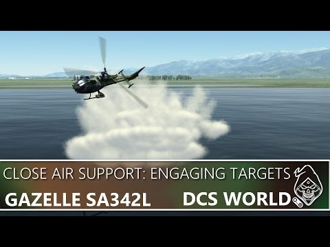 DCS GAZELLE SA342L: ENGAGING THE ENEMY