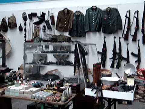 frontvogt messe militaria youtube. Black Bedroom Furniture Sets. Home Design Ideas