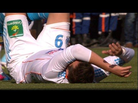 Gignac blessé et embrouille à Lorient / 2012-13