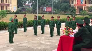 Hội thao điều lệnh đội ngũ, đại đội 39 tiểu đoàn 11 năm 2017