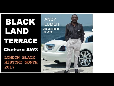 Black-Land Terrace, Chelsea  SW3, ANDY LUMEH MINISTRIES. Evangelist