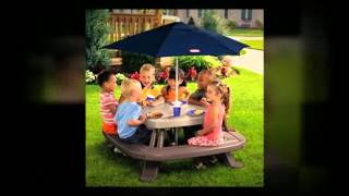 Picnic Tables Offer Outdoor Family Fun