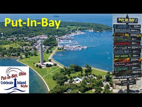Put-In-Bay Island, Sandusky OH, June 2018