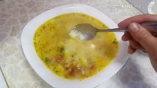 Гороховый суп с копчеными крыльями.Продукты на 1700 руб.Что буду сеть в апреле?