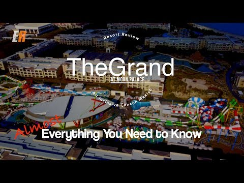 4K 2018 The Grand at Moon Palace Review -- LUXURY AND VALUE?