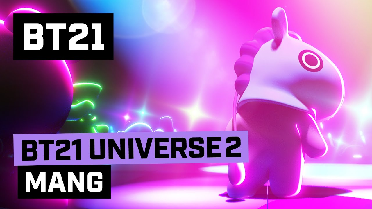 [BT21] BT21 UNIVERSE ANIMATION EP.08 - MANG