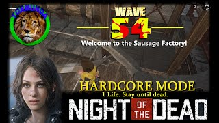 Night of the Dead HARDCORE MODE (Wave 54)