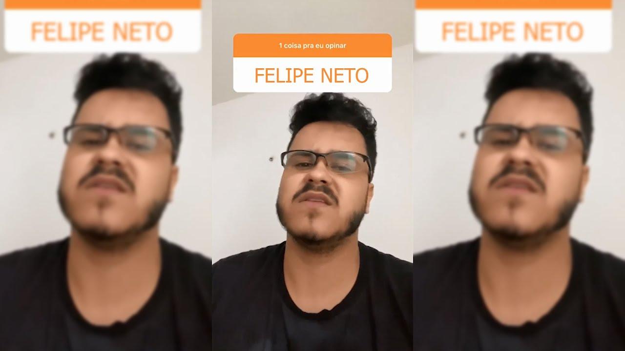 LUCAS A.R.T. FALA SOBRE O FELIPE NETO...