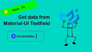 How to get data from Material-UI TextField