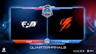 EU Regional:  Quarterfinal 2: FABe vs Pulse Gaming