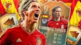 WE GOT FLASHBACK FERNANDO! 92 RATED FLASHBACK TORRES! FIFA 19 Ultimate Team