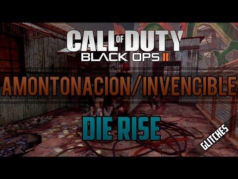 Trucos Black Ops 2 Zombies: Die Rise - Barrera Invencible en la Azotea
