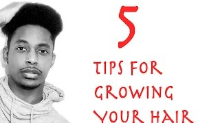 How To Grow Your Hair Faster And Longer For Men | WINSTONEE