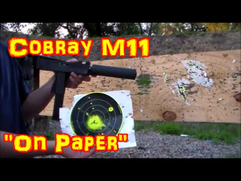On Paper Episode 1: Cobray M11!