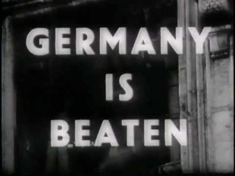 Germnay Surrenders In Italy (1945)