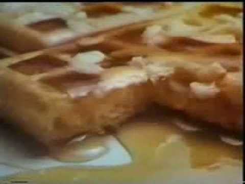 Aunt Jemima Waffles And Syrup 1967 Commercial