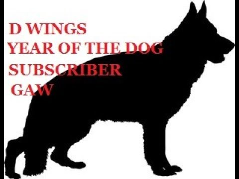 D Wing's World: Year of the Dog Subscriber GAW!