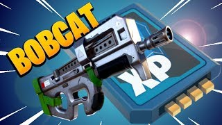 Lvl106 OBSIDIAN *BOBCAT* | Fortnite Save the World | Gameplay Weapon Review