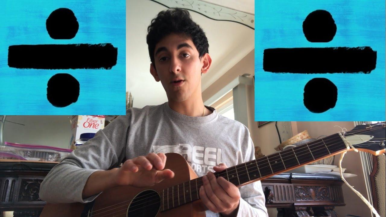 Dive Ed Sheeran Acoustic Guitar Tutorial